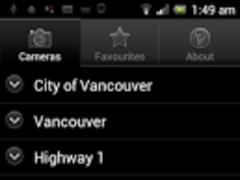 Live Traffic Vancouver  Screenshot
