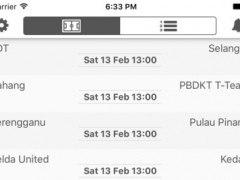 Livescore for Malaysia - Super League - Get instant football results and follow your favorite team 1.7.3 Screenshot