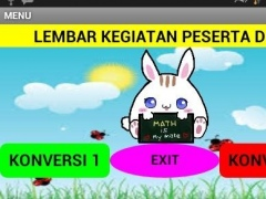 LKPD MATEMATIKA (KONVERTER) 1.0 Screenshot