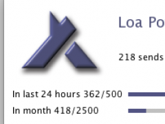 Loa PowerTools: LoaPost release (JAVA) 1.01 Screenshot