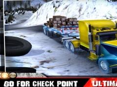 Loader Truck Simulator - Winter Hill 1.0 Screenshot