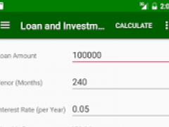 Loan and Investment Calculator 3.0 Screenshot