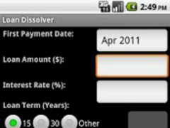 Loan Dissolver Lite 1.1.2 Screenshot