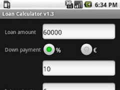 Loan Calculator 1.3 Screenshot