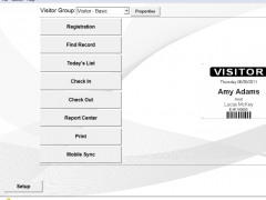 Lobby Track Free Visitor Management Software 6.7 Screenshot