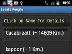 Locate Friends 1.8 Screenshot