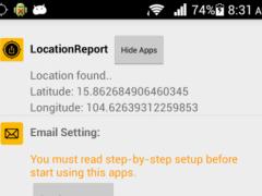 Location Report 1.5 Screenshot