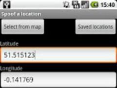 Location Spoofer Pro 1.9 Screenshot