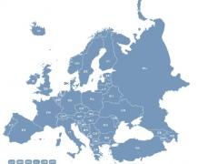 Locator Map of European Union 1.0 Screenshot