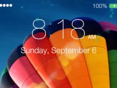 Lock Screen OS9 - Phone 6 1.5 Screenshot