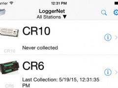 LoggerNet Mobile Connect 1.2 Screenshot