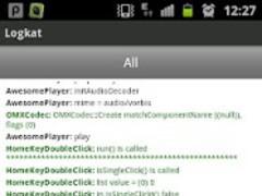 Logkat (logcat reader) 1.2 Screenshot