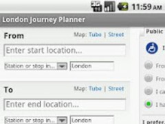 London Journey Planner Live 2.0 Screenshot