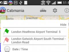 London Taxis & Minicabs 2.06 Screenshot