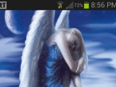 Lonely Angel Live Wallpaper 2 Screenshot