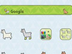Lonely Mr Alpaca Dodol Theme 4.1 Screenshot