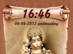 Lord Hanumaan HD Locker Theme 3.3 Screenshot