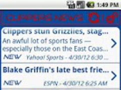 Los Angeles Clippers News 1.2.1 Screenshot