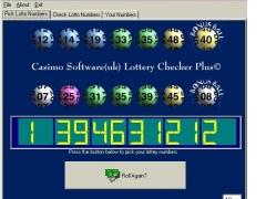 Lottery Checker Plus 2.1 Screenshot