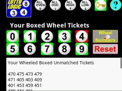 Lottery Pick 3 Wheel Generator 1.0 Screenshot