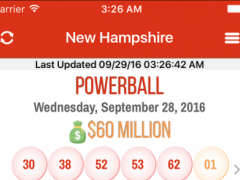 Lottery Results, New Hampshire 1.0.0 Screenshot