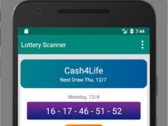Lottery Ticket Scanner - Lotto Results Free Download