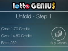 Lotto Genius - Master the numbers 1.1 Screenshot