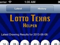 Lotto Texas Helper 1.0 Screenshot