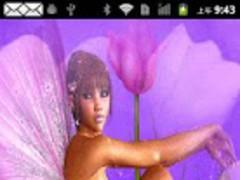 Lotus Fairy Live Wallpaper 1.0 Screenshot