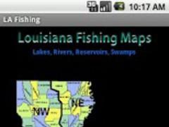 Louisiana Fishing Maps - 9.5K 1.1 Screenshot