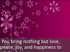 Love and Romance Quotes (FREE) 1.0 Screenshot