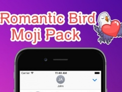 Love Birds Emoji Stickers - for iMessage 1.0 Screenshot