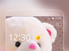 Love Cute Teddy Theme 1.0.0 Screenshot