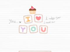 love message dodol theme 4.1 Screenshot