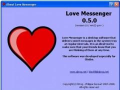 Love Messenger 0.5.0 Screenshot