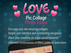 Love Pic Collage Photo Editor 1.4 Screenshot