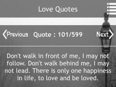 Love Quote Bank Lite 1.0.1 Screenshot