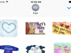 Love Seasons Stickers for iMessage 1.0 Screenshot