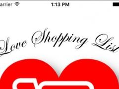 Love Shopping List 3.2 Screenshot