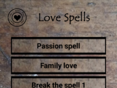 Love Spells and rituals 5.8 Screenshot
