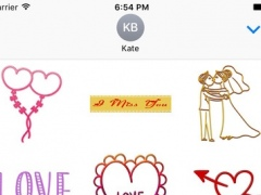 Love Stickers Pack 500 for iMessage 1.0 Screenshot