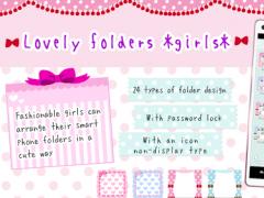 Lovely folder *girls* 1.73 Screenshot