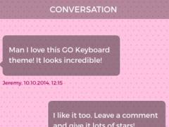 Lovely Pink Keyboard Theme 1.0 Screenshot