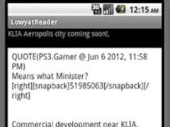Lowyat Koptiam Reader - BETA 1.0 Screenshot