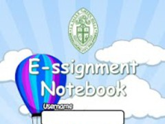 LSGH E-ssignment Notebook 1.2.0 Screenshot