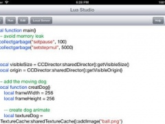 Lua Game Studio 1.0 Screenshot