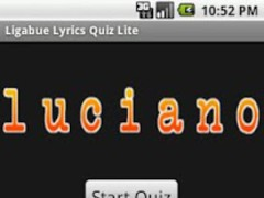 Luciano Ligabue Lyrics Quiz 1.8 Screenshot