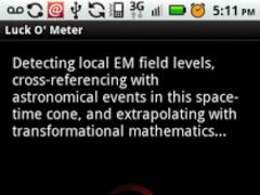 Luck O' Meter 1.0 Screenshot