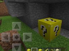 Lucky Gold Blocks Mod mcpe 1.6 Screenshot