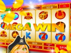 Lucky Outlaw Slots: Use your pirate tips and tricks and win the digital coin crown 2.0 Screenshot